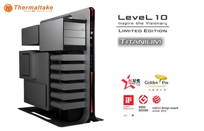 Thermaltake Level 10 Titanium Limited Edition world premier at COMPUTEX 2014