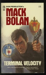 The Story Factory Mack Bolan 1984 Paperback Book Cover