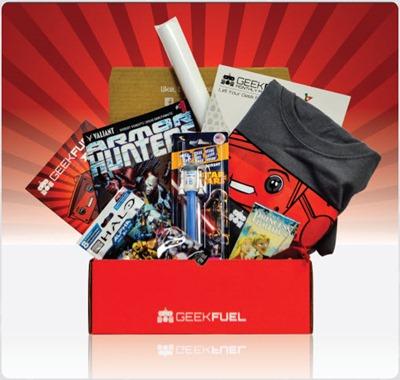 Geek Fuel - Box