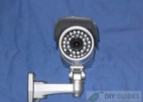 """1/4"""" Sony CCTV Infrared Night Vision Waterproof Surveillance Camera Review @ DIY Guides"""
