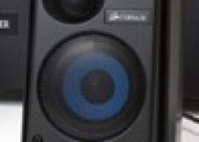 Corsair's Gaming Audio Series SP2500 2.1 speakers Review