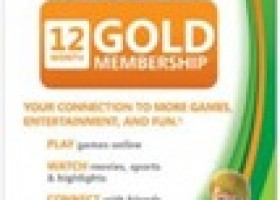 Xbox Live 12-Month Gold Subscription Card $35 Shipped