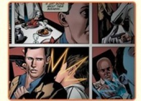 "USA Network Teams With DC Comics to Unveil Its First Digital Interactive Graphic Novel With ""Burn Notice"""