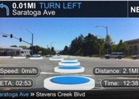 TapNav World's First Vision Based AR Navigation from Lustancia