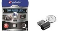 Verbatim Now Shipping Store n Go Car Audio USB Drive