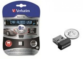 Verbatim Now Shipping Store n Go Car Audio USB Drive