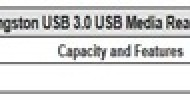 Kingston Digital Launches USB 3.0 Media Reader