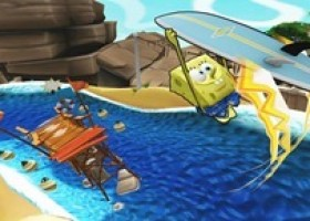 SpongeBob Surfaces for His Boarding Debut in SpongeBob's Surf & Skate Roadtrip from THQ