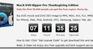 MacX DVD Ripper Pro and MacX Video Converter Pro Giveaway