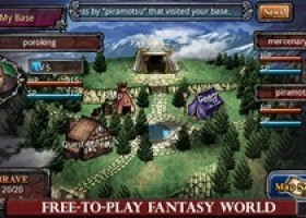 SEGA Partners with PapayaMobile for Fallen Realms Free on Android