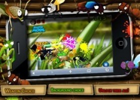 App Launch of NINJA BUGS Game for iPhone, to Compete with Fruit Ninja