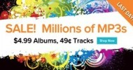 Last Day! Over 10 Millions Tracks for 49¢ on Google Music