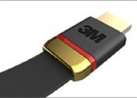 CES: 3M Unveils Flat, Foldable HDMI Cable for the Consumer Market at CES 2012