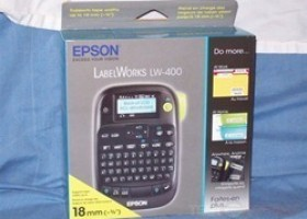 Epson LabelWorks LW-400 Label Printer @ TestFreaks