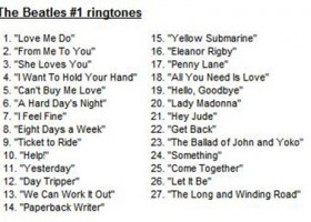 The Beatles' First Ringtones Exclusively on the iTunes Store
