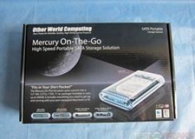 OWC Mercury On-The-Go FireWire 800 / USB 2.0 Portable Hard Drive Kit @ TestFreaks