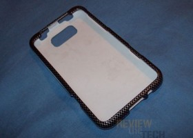 Premium Carbon Fiber Design Rubberized Shield Hard Case Cover for HTC Titan Review