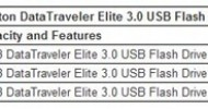 Kingston Digital Expands USB 3.0 Flash Drive Product Line