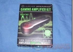 Xjacker Soniq Rush 2.0 Gaming Amplifier Kit (Xbox 360 Edition) Review @ TestFreaks