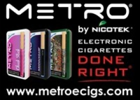 METRO Electronic Cigarette Intros A Customizable Vaping Experience