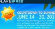 EA's Play4Free Portfolio Celebrates the Countdown to Summer with Seven Days of Giveaways