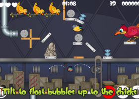 Free iOS App: Bubble Grubble