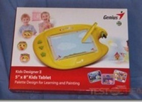 "Genius Kids Designer II 5"" x 8"" Graphic Tablet for Kids Review @ TestFreaks"