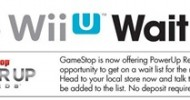 GameStop Opens Exclusive Wii U Wait List to PowerUp Rewards Members