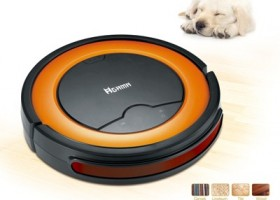 AGAMA AiBOT RC530A and RC330A Robotic Vacuum Cleaners Cleaning While You Work and Play