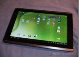 MFX Screen Protector for Acer Iconia A500 Android Tablet Review @ Mobility Digest