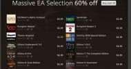 GOG EA Sale Going on Now