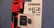Kingston 64GB microSDXC Class 10 Flash Card Review @ TestFreaks