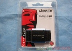 Kingston MobileLite G3 USB 3.0 Reader Review @ TestFreaks