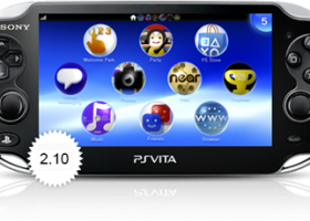 New Update 2.10 Out Today for PS Vita