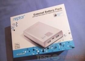 EagleTech ET-NP100K Neptor 10,000mAh External Battery Pack Review @ TestFreaks