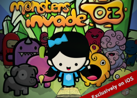 Monsters Invade: Oz on iOS Today