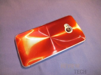 Red Aluminum Shine Cover for HTC One Review