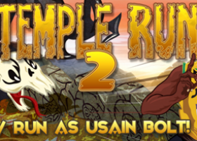 Usain Bolt Sprints Comes to Temple Run 2