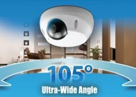 Compro Introduces TN2200 Cloud Mini Dome Network Camera