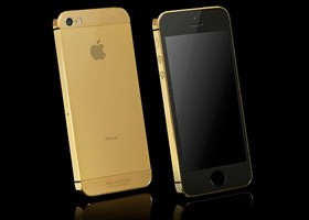 24 Ct Gold iPhone 5s Launched By Goldgenie