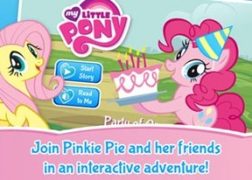 MY LITTLE PONY: Party of One Digital Book App for iPhone, iPad & iPod Touch