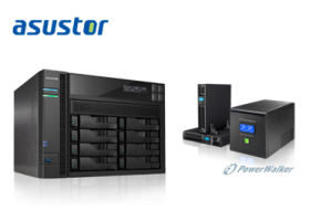 ASUSTOR Now Compatible with PowerWalker UPS Devices