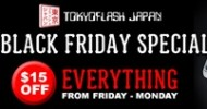 Tokyoflash Japan Black Friday Offer