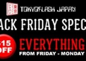 Tokyoflash Japan Black Friday Offer