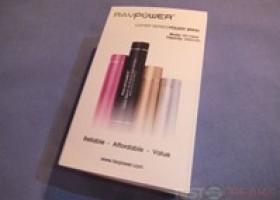 RAVPower Luster RP-PB08 3000mAh External Battery Pack Review @ TestFreaks