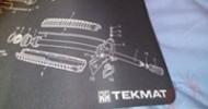 TekMat AR-15 Bench Mat Review @ DragonSteelMods