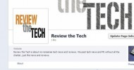 Review the Tech Now on Facebook
