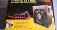 Diablotek PHD450 PHD Series 450 Watt Power Supply Review @ DragonSteelMods