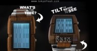 TokyoFlash Announces Special Edition Kisai Upload Wood Watch