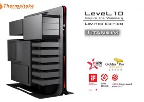 New Thermaltake Level 10 Gaming Station Titanium Limited Edition Announced at Computex